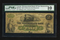 Canadian Currency: , Moncton, NB- The Westmorland Bank $2 Aug. 1, 1861 Ch. # 800-12-04a. ...