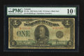 Canadian Currency: , DC-25a $1 1923.. ...