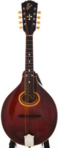 Musical Instruments:Banjos, Mandolins, & Ukes, 1919 Gibson A-4 Shaded Mandolin, #50617....