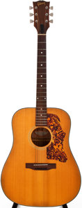 Musical Instruments:Acoustic Guitars, 1970 Gibson J-50 Deluxe Natural Acoustic Guitar, #A313023....