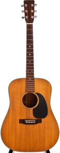Musical Instruments:Acoustic Guitars, 1972 Martin D-18 Natural Acoustic Guitar, #301142....