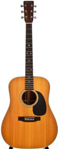 Musical Instruments:Acoustic Guitars, 1980 Martin D-28 Natural Acoustic Guitar, #427633....
