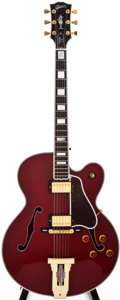 Musical Instruments:Electric Guitars, 2001 Gibson L-5 CES Cherry Archtop Electric Guitar, #20291004....