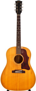 Musical Instruments:Acoustic Guitars, 1967 Gibson J-50ADJ Natural Acoustic Guitar, #862296....