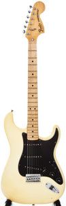 Musical Instruments:Electric Guitars, 1979 Fender Stratocaster Cream Solid Body Electric Guitar,#S908009....