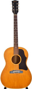 Musical Instruments:Acoustic Guitars, 1966 Gibson B-25N Natural Acoustic Guitar, #437118....