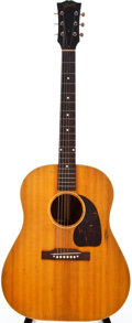 Musical Instruments:Acoustic Guitars, 1952 Gibson J-50 Natural Acoustic Guitar, #Z293827....