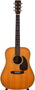 Musical Instruments:Acoustic Guitars, 1962 Martin D-28 Natural Acoustic Guitar, #181527....