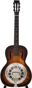 Musical Instruments:Resonator Guitars, 1937 National Sunburst Resonator Guitar, #A4437....