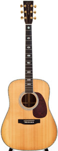 Musical Instruments:Acoustic Guitars, 1997 Martin D-41 Natural Acoustic Guitar, #615284....