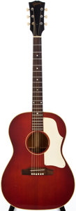Musical Instruments:Acoustic Guitars, 1965-69 Gibson B-25 Cherry Acoustic Guitar, #500807....