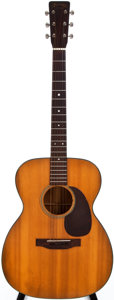 Musical Instruments:Acoustic Guitars, 1951 Martin 000-18 Natural Acoustic Guitar, #118808....