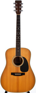 Musical Instruments:Acoustic Guitars, 1977 Martin D-35 Natural Acoustic Guitar, #388881....