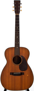 Musical Instruments:Acoustic Guitars, 1946 Martin 00-18 Natural Acoustic Guitar, #96783....
