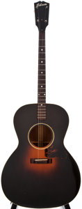 Musical Instruments:Acoustic Guitars, 1947 Gibson TG-0 Tenor Sunburst Acoustic Tenor Guitar, #989....