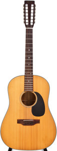 Musical Instruments:Acoustic Guitars, 1971 Martin D-12-20 Natural 12-String Acoustic Guitar, #278025....