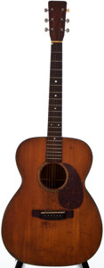 Musical Instruments:Acoustic Guitars, 1953 Martin 000-18 Natural Acoustic Guitar, #128611....
