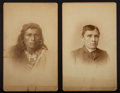 American Indian Art:Photographs, THOMAS TORLINO, NAVAJO. c. 1880... (Total: 2 Items)