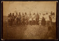 "American Indian Art:Photographs, ""WAR DANCE"" . c. 1880. ..."