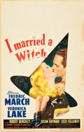 "Movie Posters:Fantasy, I Married a Witch (United Artists, 1942). Window Card (14"" X 22"").. ..."