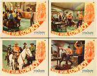 """Ride Him, Cowboy (Warner Brothers, 1932). Lobby Cards (4) (11"""" X 14""""). ... (Total: 4 Items)"""