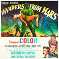 "Movie Posters:Science Fiction, Invaders from Mars (20th Century Fox, 1953). Six Sheet (81"" X81"").. ..."