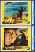 "Movie Posters:Science Fiction, Godzilla (Trans World, 1956). CGC Graded Lobby Cards (2) (11"" X14"").. ... (Total: 2 Items)"