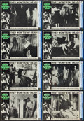 "Movie Posters:Horror, Night of the Living Dead (Continental, 1968). CGC Graded Lobby CardSet of 8 (11"" X 14"").. ... (Total: 8 Items)"