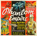 "Movie Posters:Serial, The Phantom Empire (Mascot, 1935). Six Sheet (81"" X 81"").. ..."