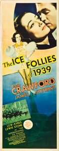 """Movie Posters:Musical, The Ice Follies of 1939 (MGM, 1939). Insert (14"""" X 36"""").. ..."""