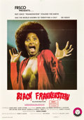 "Movie Posters:Blaxploitation, Blackenstein (Frsco, 1972). One Sheet (27"" X 41"").. ..."