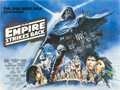 "Movie Posters:Science Fiction, The Empire Strikes Back (20th Century Fox, 1980). British Quad (30""X 40"").. ..."
