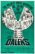 "Movie Posters:Science Fiction, Dr. Who and the Daleks (Continental, 1966). One Sheet (27"" X 41"")....."