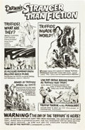 "Movie Posters:Science Fiction, The Day of the Triffids (Allied Artists, 1962). One Sheets (2) (27""X 41"") Advance and Standard.. ... (Total: 2 Items)"