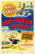 "Movie Posters:Animation, Don's Fountain of Youth (RKO, 1953). One Sheet (27"" X 41"").. ..."