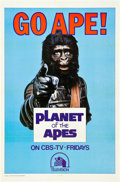 """Movie Posters:Science Fiction, Go Ape! (20th Century Fox, 1974). Television One Sheet (27"""" X41"""").. ..."""