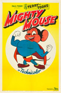 "Movie Posters:Animated, Mighty Mouse (20th Century Fox, 1943). One Sheet (27"" X 41"").. ..."