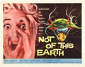 "Movie Posters:Science Fiction, Not of This Earth (Allied Artists, 1957). Half Sheet (22"" X 28"")....."