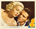 "Movie Posters:Film Noir, The Postman Always Rings Twice (MGM, 1946). Autographed Lobby Card(11"" X 14"").. ..."