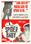 "Movie Posters:Horror, Spider Baby (American General Pictures, Inc., 1968). One Sheet (27""X 41"").. ..."