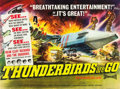 """Movie Posters:Science Fiction, Thunderbirds Are Go (United Artists, 1968). British Quad (30"""" X40"""").. ..."""