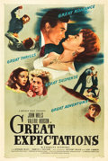 """Movie Posters:Drama, Great Expectations (Universal International, 1946). One Sheet (27"""" X 41"""").. ..."""