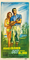 "Movie Posters:James Bond, Dr. No (United Artists, 1962). French Affiche (15.5"" X 30.75"")....."