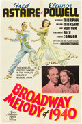 "Movie Posters:Musical, Broadway Melody of 1940 (MGM, 1940). One Sheet (27"" X 41"") StyleC.. ..."