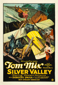 "Movie Posters:Western, Silver Valley (Fox, 1927). One Sheet (28.25"" X 41"").. ..."