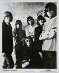 Music Memorabilia:Autographs and Signed Items, Jefferson Airplane Band-Signed Photo....