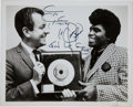 Music Memorabilia:Autographs and Signed Items, James Brown Signed Photo....