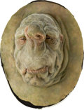 Movie/TV Memorabilia:Props, The Hitchhiker's Guide to the Galaxy Councillor WartzAnimatronic Face Mask....