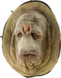 Movie/TV Memorabilia:Props, The Hitchhiker's Guide to the Galaxy Councillor Fartz Animatronic Face Mask....