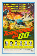 """Movie Posters:Science Fiction, Thunderbirds Are Go (United Artists, 1968). One Sheet (27"""" X 41"""")....."""